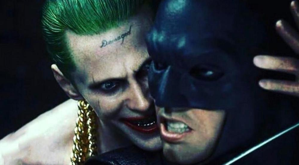 Jared Leto als Joker mit Ben Affleck als Batman