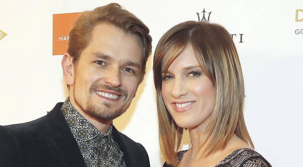 Sind jetzt auch Eltern: Isabell Horn und Jens Ackermann