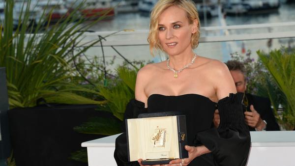 """Für ihre Leistung in """"Aus dem Nichts"""" wurde Diane Kruger mit dem Darstellerpreis der 70. Filmfestspiele von Cannes ausgezeichnet"""