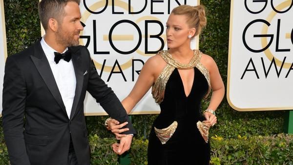 Blake Lively und Ryan Reynolds bei den Golden Globe Awards in Los Angeles