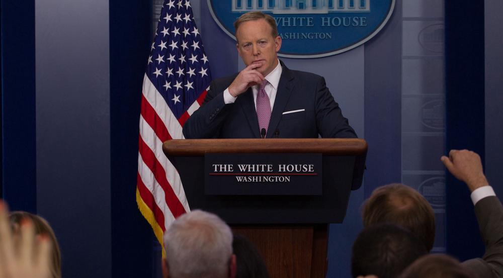 Sean Spicer hat offenbar zu viel zu tun