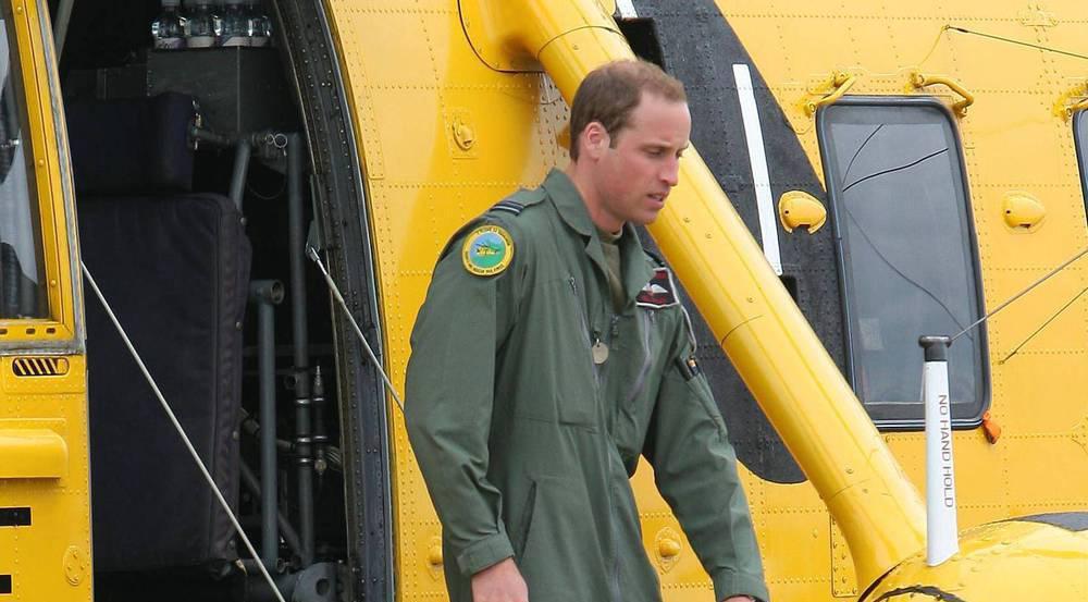 Zwei Jahre lang flog Prinz William Rettungseinsätze mit dem Hubschrauber