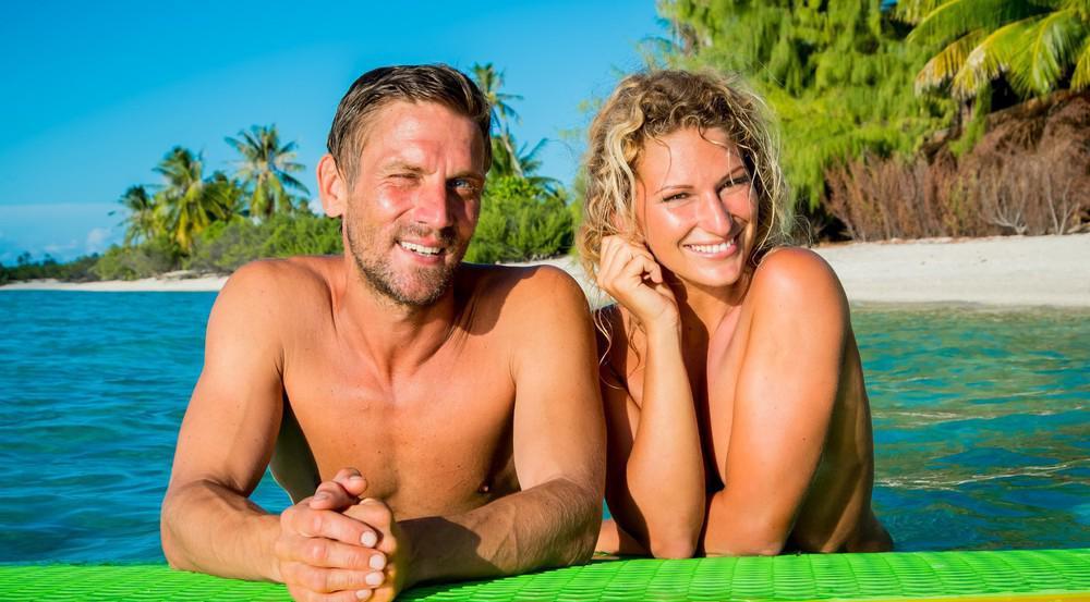 Peer Kusmagk und Janni Hönscheid lernten sich in einem Nackt-Format im Fernsehen kennen