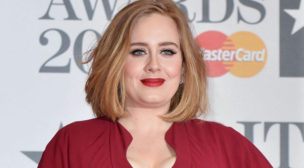 Adele bei einem Auftritt in London