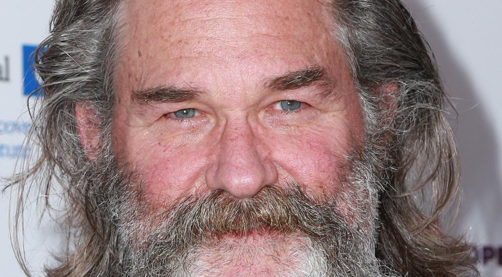 Den zu seiner Geschichte passenden Bart trägt er ab und an: Kurt Russell