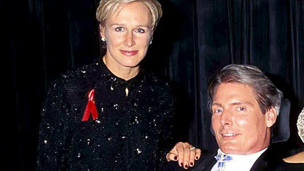 Glenn Close und Christopher Reeve verband eine innige Freundschaft