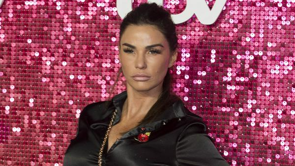 Katie Price bei einem Gala-Event im November 2017 in London