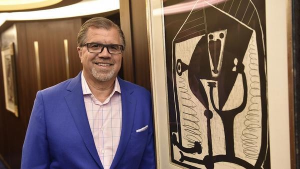 Reederei-Chef Frank del Rio und der echte Picasso