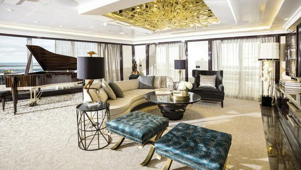 Steinway-Flügel in der Regent Suite
