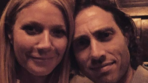 Gemeinsame Bilder von Gwyneth Paltrow und Brad Falchuk sind eine Seltenheit