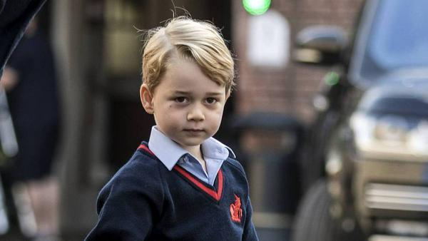 """Prinz George ist ein großer Fan von """"Feuerwehrmann Sam"""""""