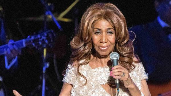 Aretha Franklin hat deutlich an Gewicht verloren
