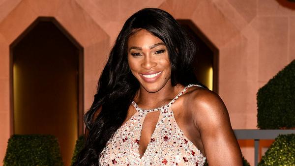 Serena Williams ist gerade rundum zufrieden