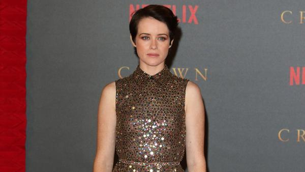 """Claire Foy bei der Weltpremiere der zweiten Staffel von """"The Crown"""" in London."""