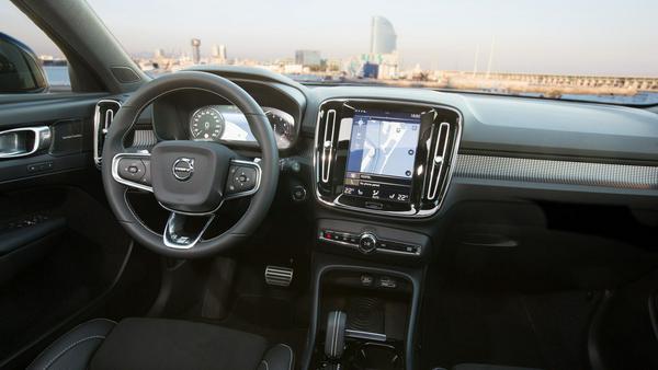 Volvo-Eigenart: Display im Hochformat