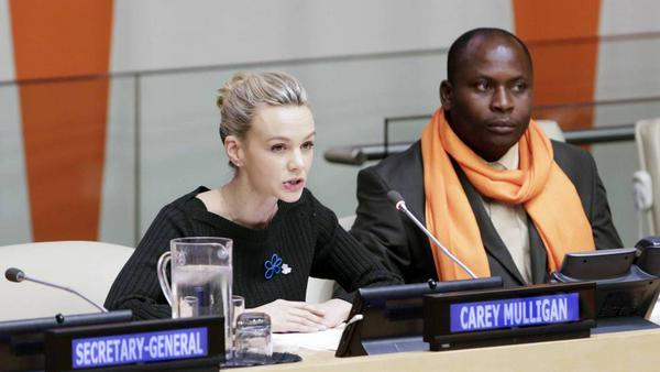 Carey Mulligan hatte eine wichtige Botschaft an die UN