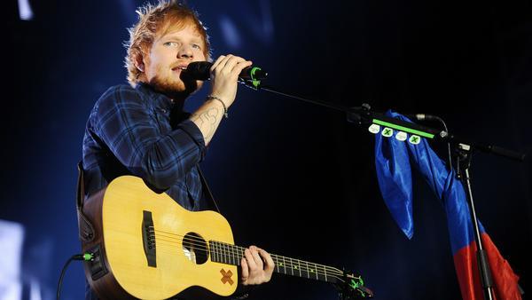 """Ed Sheeran steht am 17. Dezember bei """"The Voice of Germany"""" auf der Bühne"""