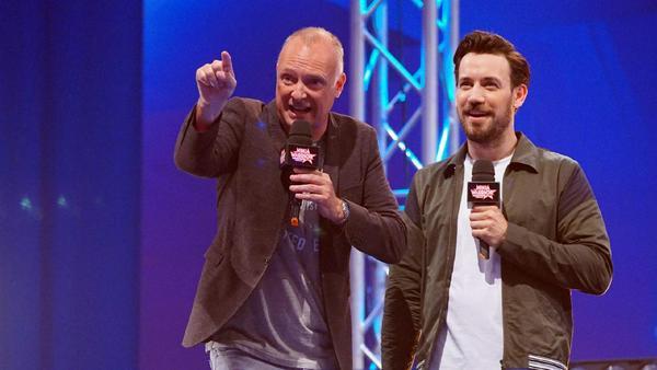 Frank Buschmann und Jan Köppen moderieren die Show