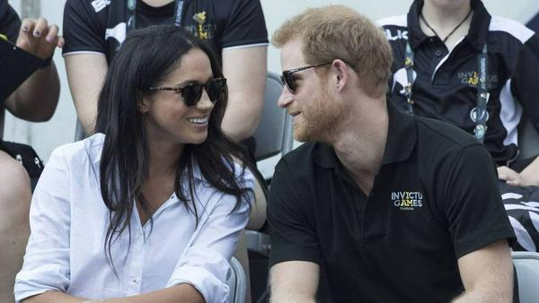 Prinz Harry und Meghan Markle bei einem ihrer ersten gemeinsamen Auftritte