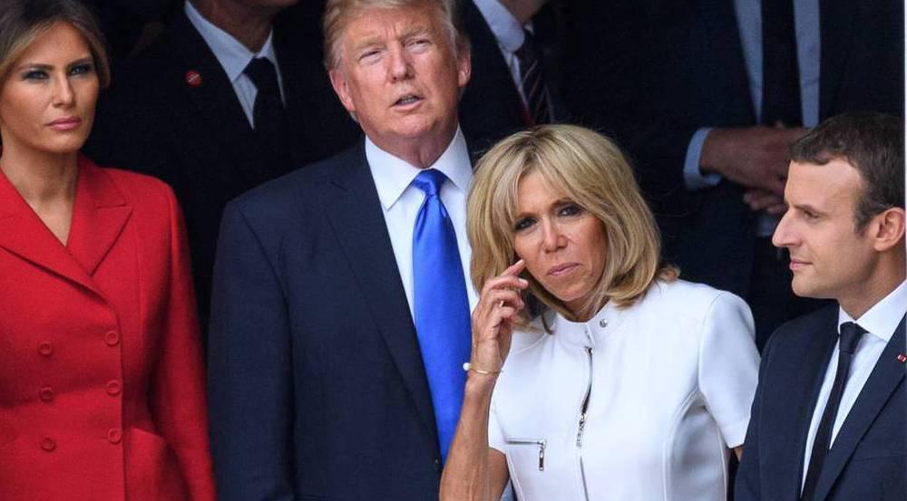 Brigitte Macron hat Donald Trump beeindruckt