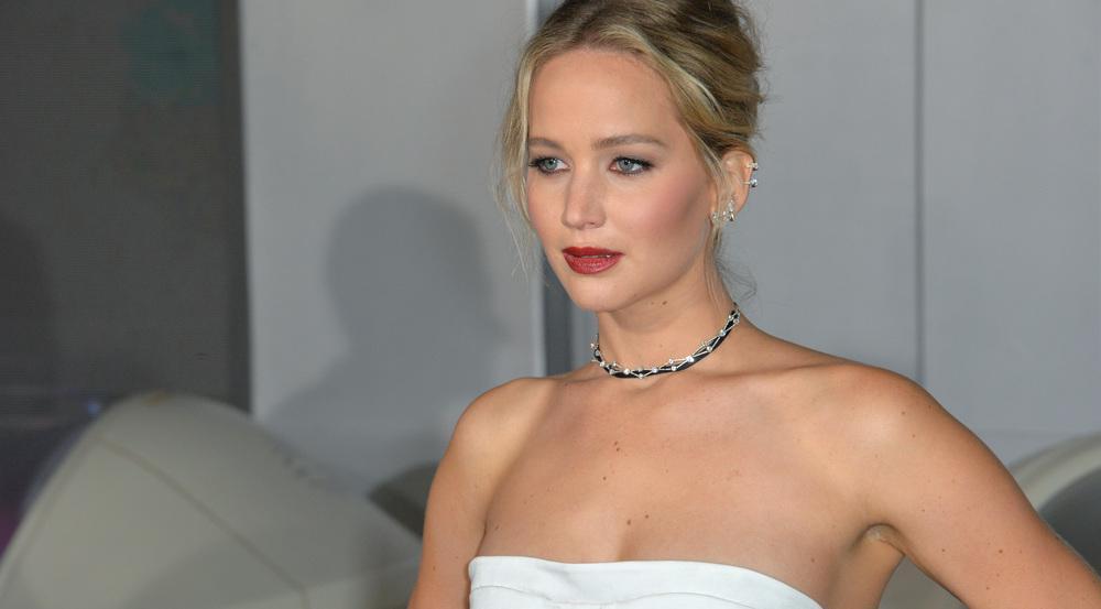 Jennifer Lawrence auf einer Filmpremiere