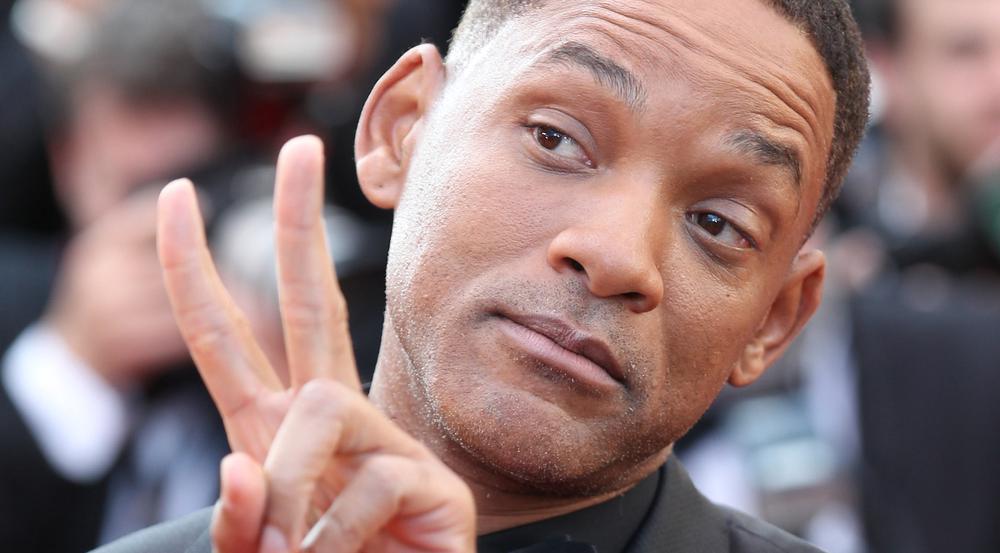 Will Smith bei einem Auftritt in Cannes
