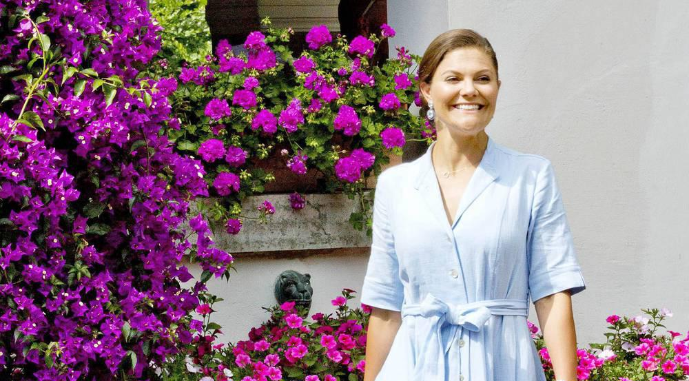 Kronprinzessin Victoria von Schweden bewies einmal mehr ihr Stil-Gefühl