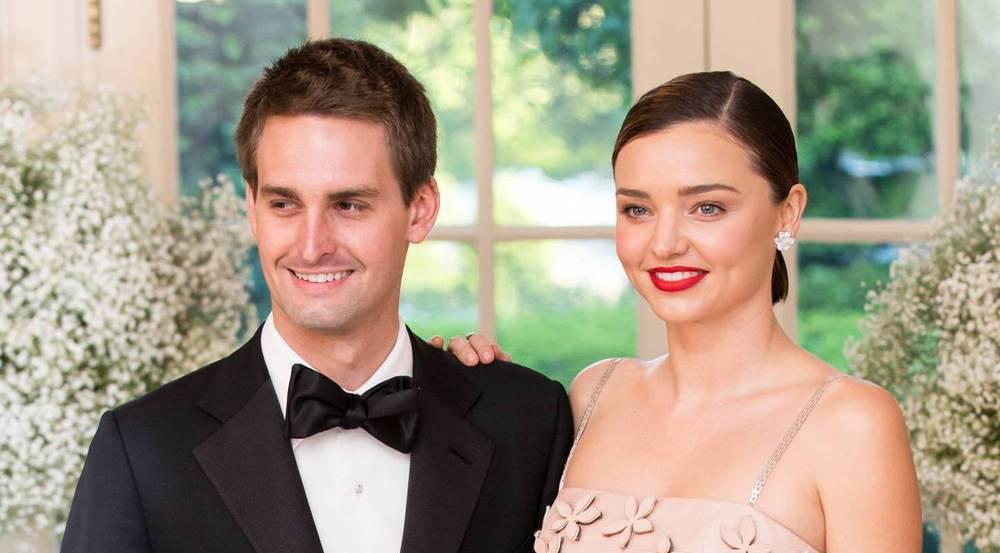 Miranda Kerr zeigt erste Bilder ihrer Hochzeit mit Evan Spiegel