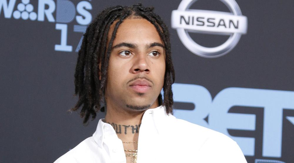 Vic Mensa bei der Verleihung der BET Awards 2017 in Los Angeles