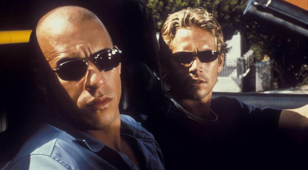 Vin Diesel (l.) und der mittlerweile verstorbene Paul Walker in
