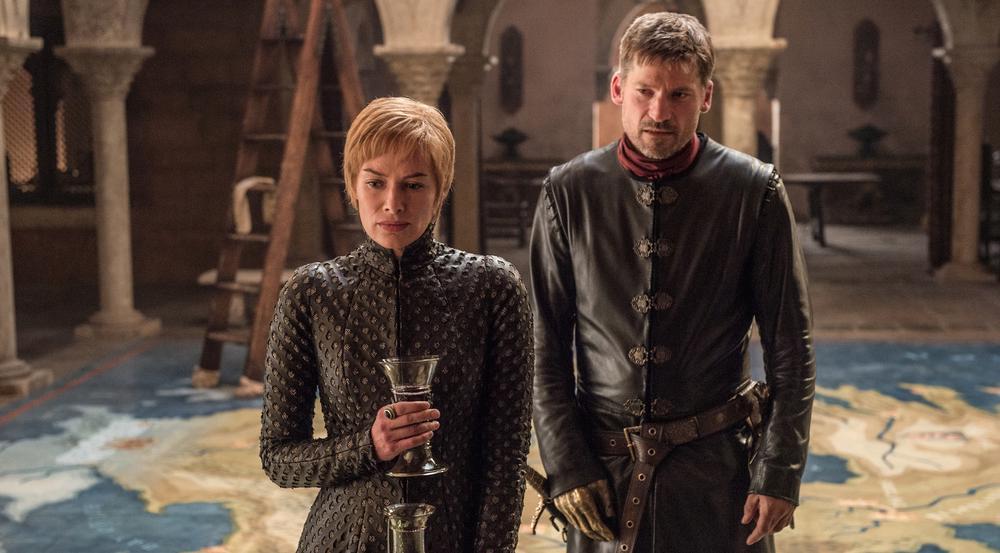 Cersei (Lena Headey) und Jaime (Nikolaj Coster-Waldau) Lennister in der siebten Staffel von
