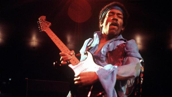 Jimi Hendrix zelebrierte seine Auftritte wie kein anderer
