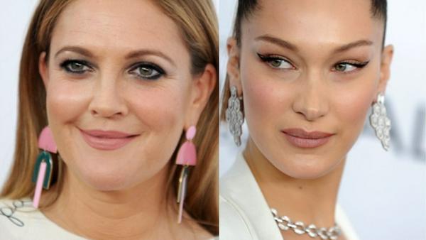 Auch Drew Barrymore und Bella Hadid lieben die neuen Statement-Ohrringe