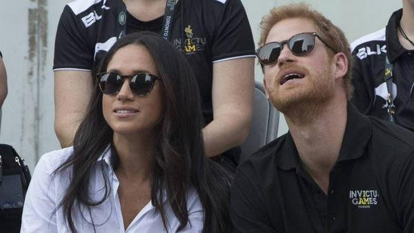 Der Blick in eine gemeinsame Zukunft: Meghan Markle und Prinz Harry
