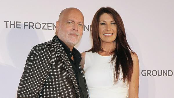 Gary Goldsmith und seine Frau Julie-Ann auf einem Event in London