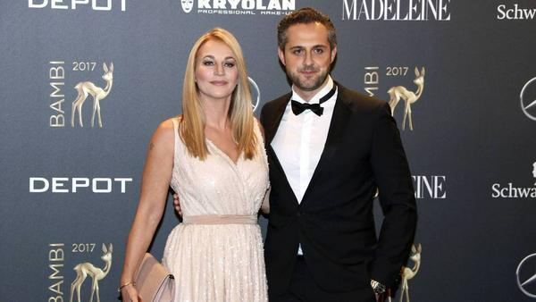 Caroline Beil und Philipp Sattler haben seit Kurzem eine gemeinsame Tochter