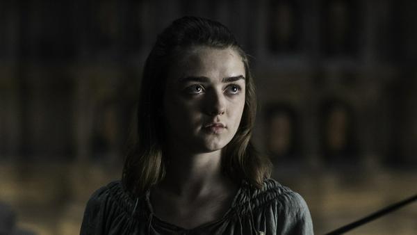 Arya Stark (Maisie Williams) sollte nicht der falschen Person den Rücken zuwenden...