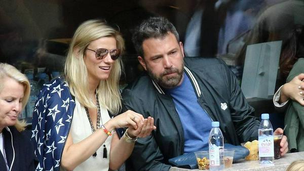 Ben Affleck und Lindsay Shookus bei den US Open in New York
