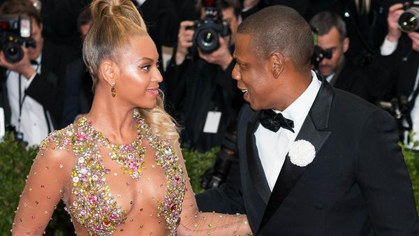 Hatte seiner Frau schon einiges zu erklären: Jay-Z mit Beyoncé