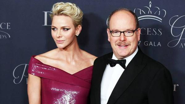 Charlène und Albert von Monaco bei den Princess Grace Awards in Los Angeles