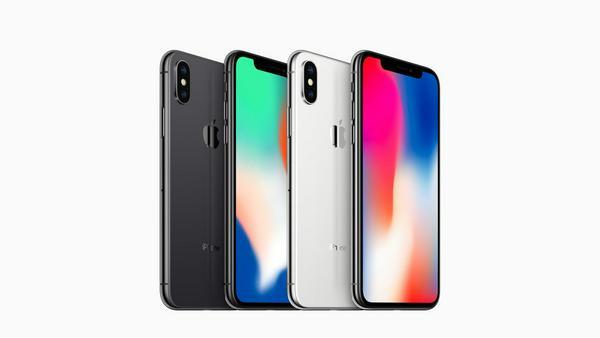 """Das iPhone X gibt es in den Farbvarianten """"Silber"""" und """"Space Grau"""""""