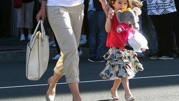Suri Cruise trug bereits im Alter von drei Jahren Schuhe mit Mini-Absatz
