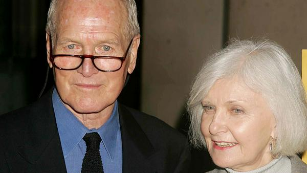 Paul Newman und seine Frau Joanne Woodward im Jahr 2005