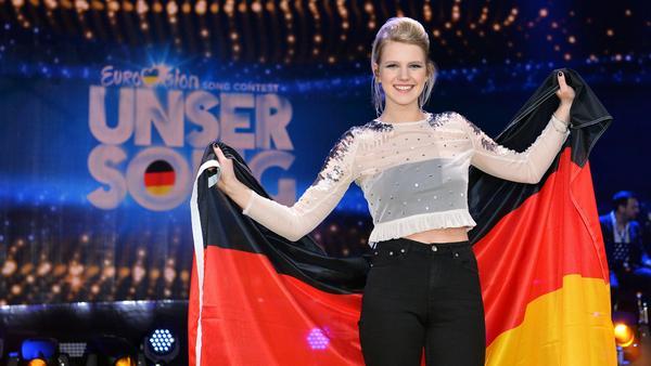 Levina gewann den deutschen Vorentscheid 2017 und holte beim ESC Platz 25
