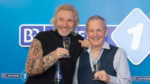 Thomas Gottschalk und Fritz Egner freuen sich auf Silvester