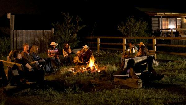 Stilecht: Lagerfeuer auf der La Reata Ranch