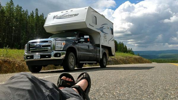 Entspannt mit dem Camper durch die Northwest Territories
