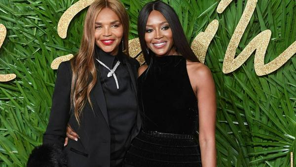 Valerie Morris mit ihrer Tochter Naomi Campbell