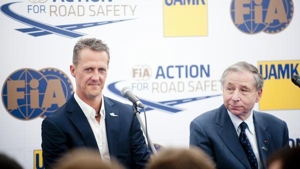 Michael Schumacher kämpft weiter