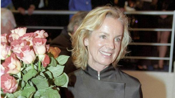 Jil Sander (Archivfoto vom  1.10.1997) feiert internationale Erfolge mit ihrer Mode